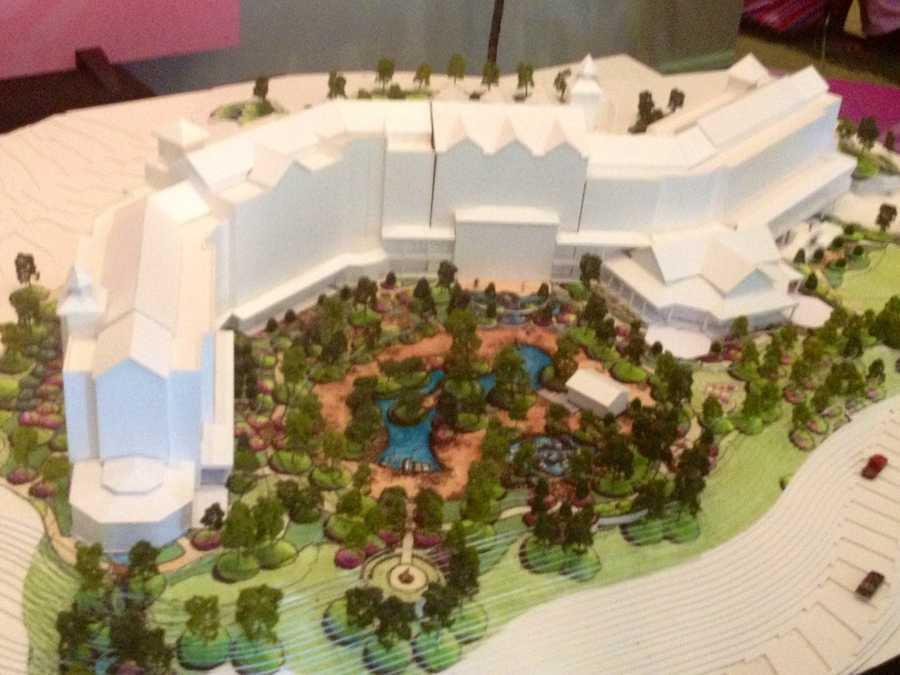 This is what the new Dollywood resort will look like.