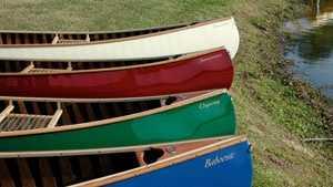 Merrimack canoes