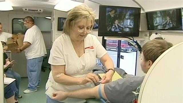 BLOOD CONNECTION SHORTAGE-PKG