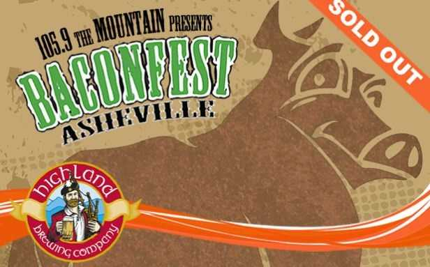 Bacon Fest, Highland Brewing Company, Asheville, 1 – 4 p.m.