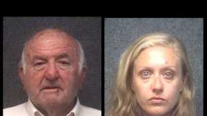 Don Scarbough Fenters and Alisha Caroline Phillips: charged with prostitution