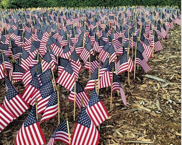 Those who lost their lives on Sept. 11, 2001 and the families they left behind were remembered all across the Upstate.