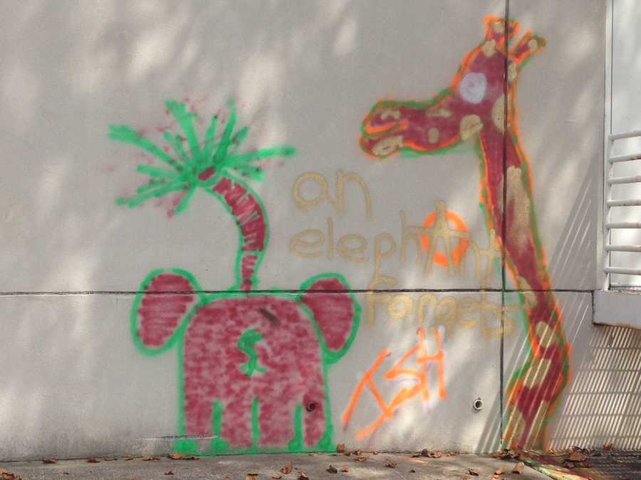 Police are dealing with a strange case of vandalism with an elephant theme. Click HERE to read more.