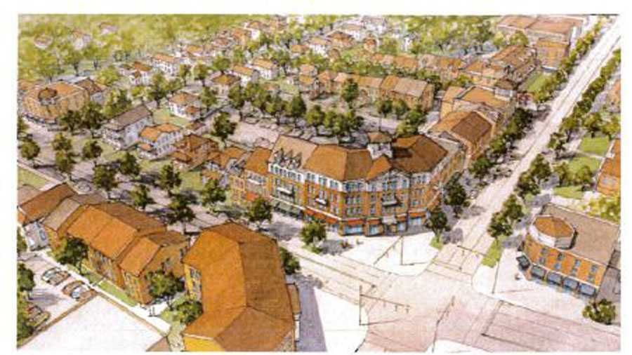 The Beach Co. has released the first architectural renderings of what's planned on the corner of Stone Avenue and Main Street in Greenville.
