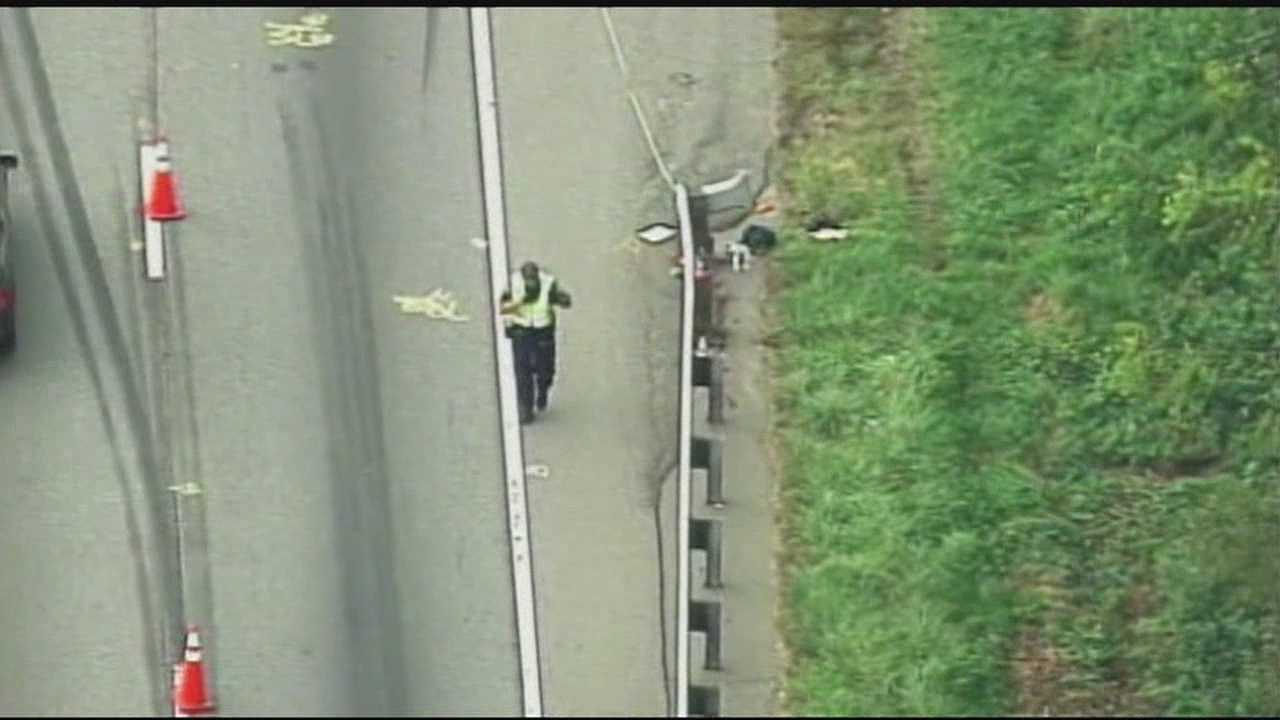img-Medical examiner 1 dead after car overturns on I-26