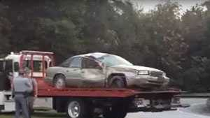 car on wrecker