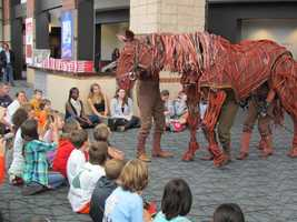 Joey was created by South Africa's Handspring Puppet Company.
