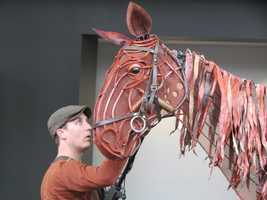 The tail and ears are moveable instead of the lips or eyelids, because that's how horses usually express themselves.