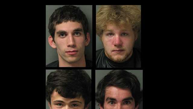 new Oconee party arrest mugs