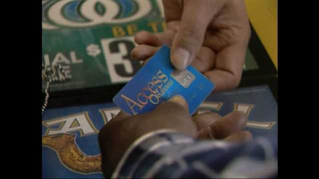 Food stamps card