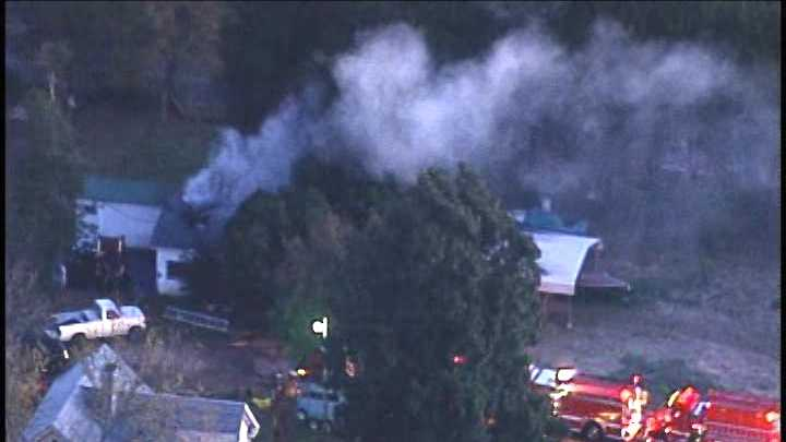 Anderson Co. house fire