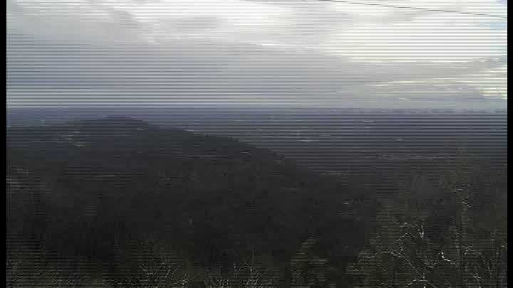 Here is a time-lapse video of the snow moving into the Upstate from Paris Mountain.