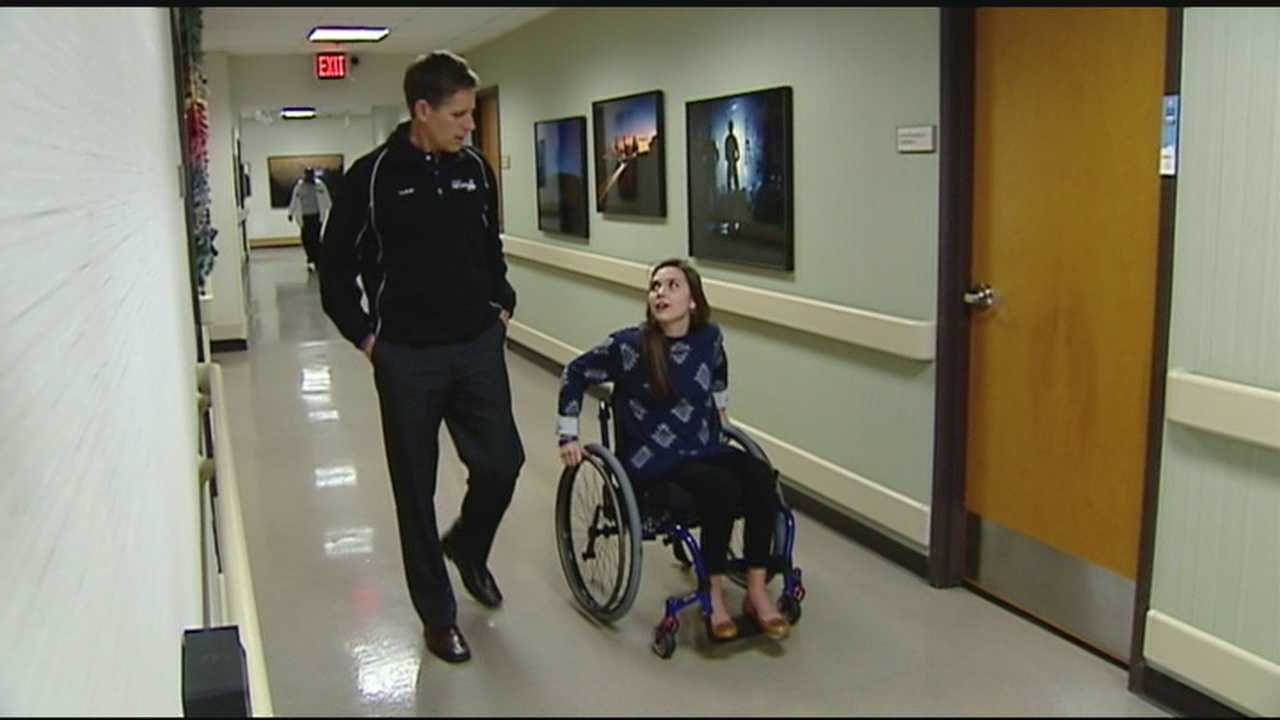 WYFF News 4's Geoff Hart talks with Martha Childress on her recovery
