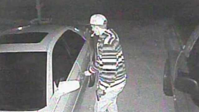 AUTO BREAK-IN SUSPECT