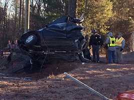 One person was killed in a wreck that ended with a car wrapped around a tree. To read more, click HERE.