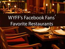 We asked our Facebook fans to add onto our previous list of the Upstate's favorite restaurants.  These are the additions for 2013 (in alphabetical order).