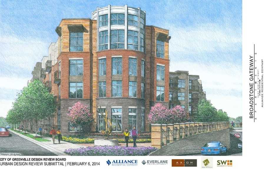 Apartments are now planned for a section of downtown Greenville that has sat vacant for years, according to the developer. These pictures are of the plans. To read more, click HERE.