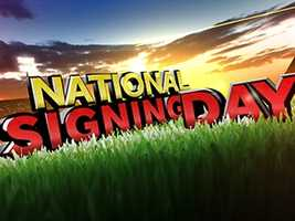 Wednesday is National Signing Day. The day top high school athletes make the decision on where they will play next year. Click through to see pictures of Upstate athletes signing. We will continue to add pictures throughout the day. Click HERE to read more about where the athletes are going.