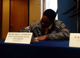 Demetrius Anthony (Christ Church) - East Tennessee University