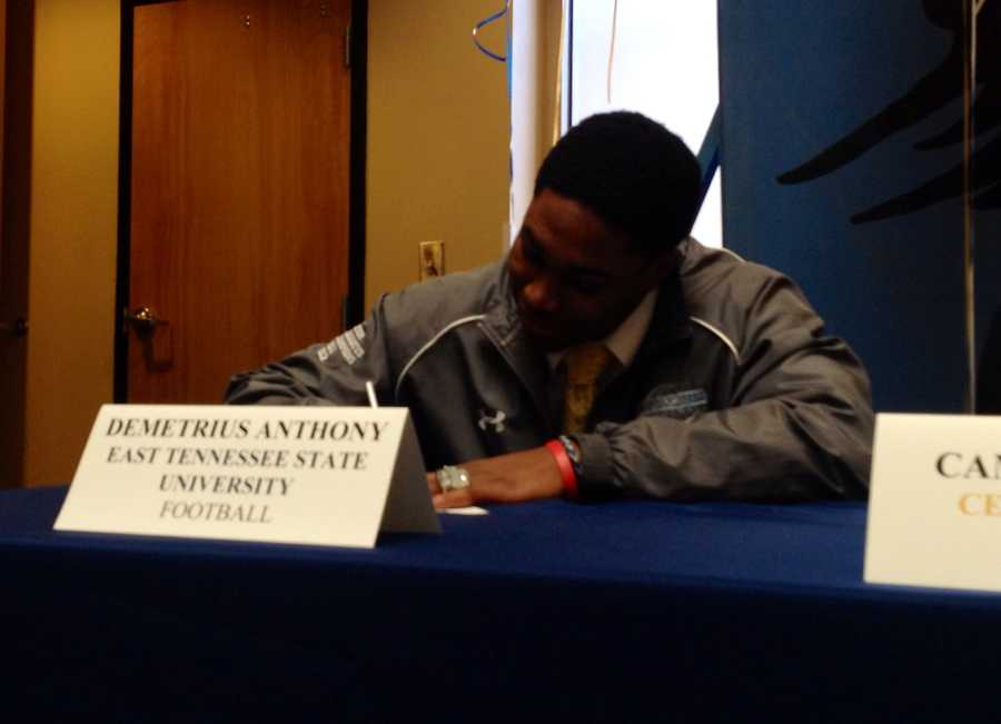 Demetrius Anthony (Christ Church) - East Tennessee University