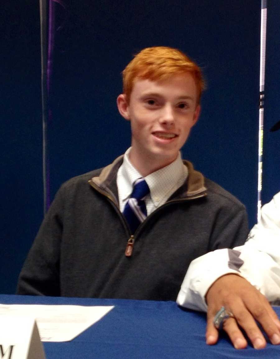 James Quattlebaum (Christ Church)- High Point for cross country and track