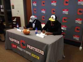 Tyshun Samuel (Chapman)- South Carolina and Malik Gray (Chapman) - East Carolina University