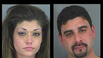 Angela McClure, Ernest McCumber: Arrested after high-speed chase