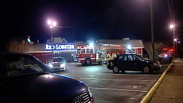 red lobster fire