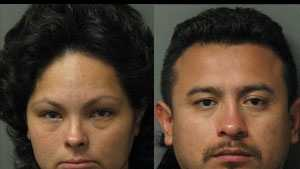 Maria Carmen Herrera, Yair Ortega-Guzman: Accused of drug trafficking