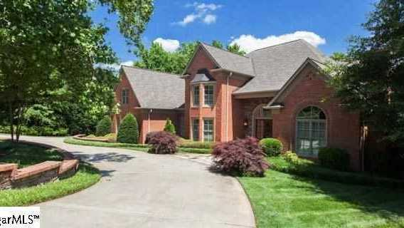 This 4 bedroom, 5.5 bath home is on Collins Creek Road, off Parkins Mill Road in Greenville is for sale on Realtor.com.