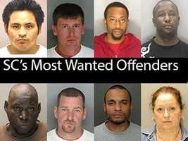 """Department of Probation, Parole and Pardon Services needs help finding the following fugitives. The fugitives are the """"Most Wanted"""" offenders on the Department of Probation, Parole and Pardon Services website. All the information about the fugitives is according to the SCDPPP website."""