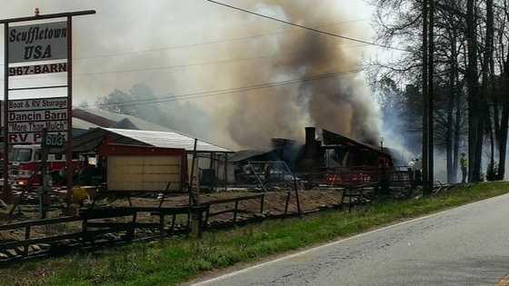 Scuffletown USA fire