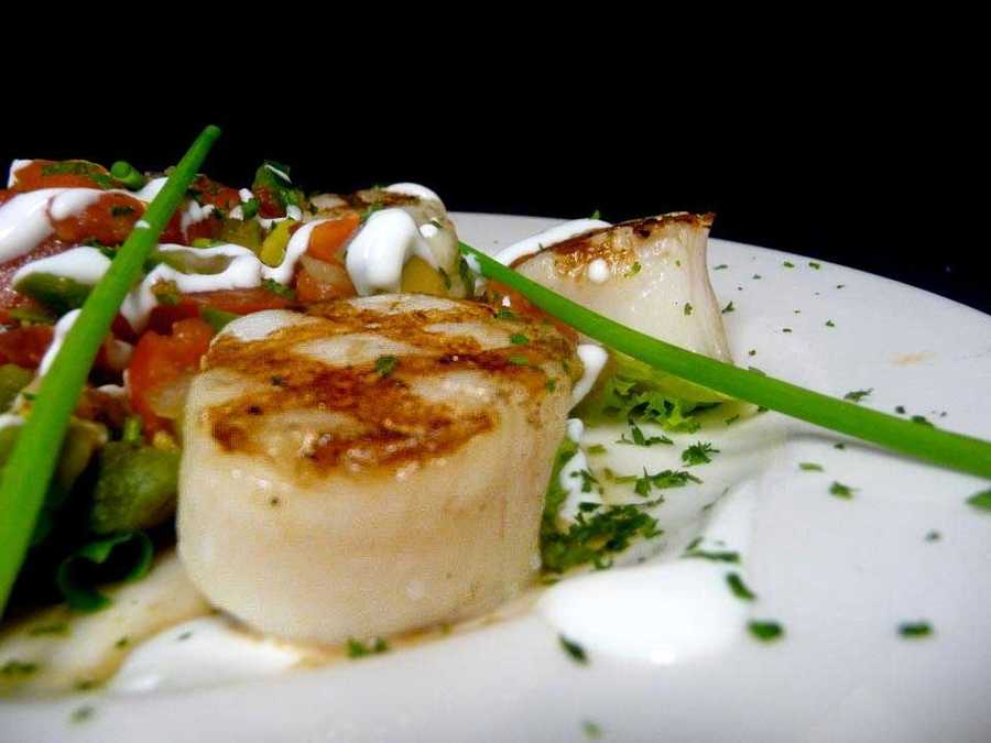 Scallops from Augusta Grill