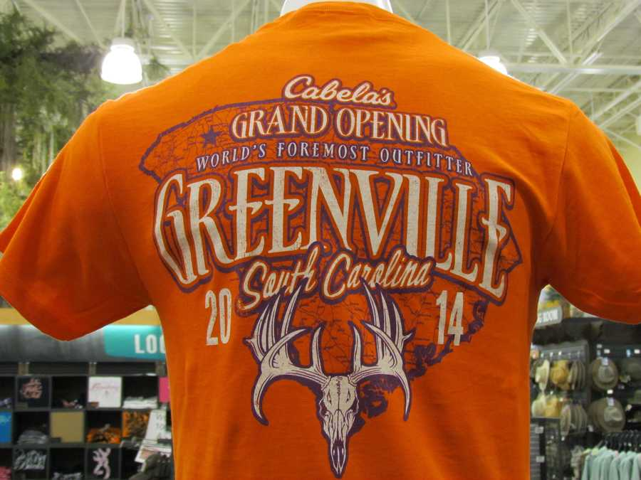 Greenville's Cabela's is located in Magnolia Park, at the junction of I-85/I-385 on Woodruff Road.