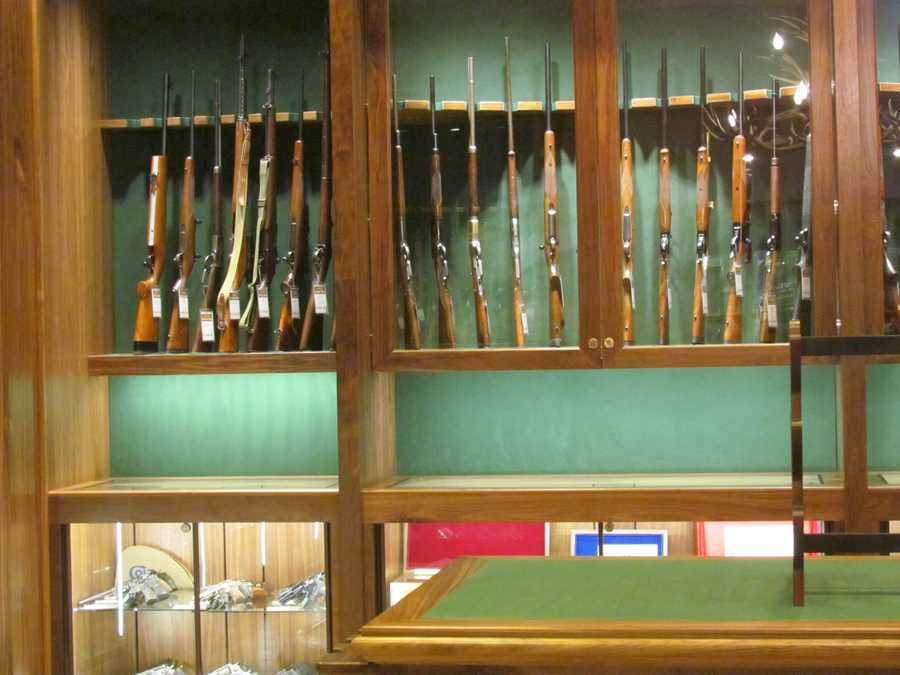 Cabela's Gun Library features weapons that appeal to collectors.