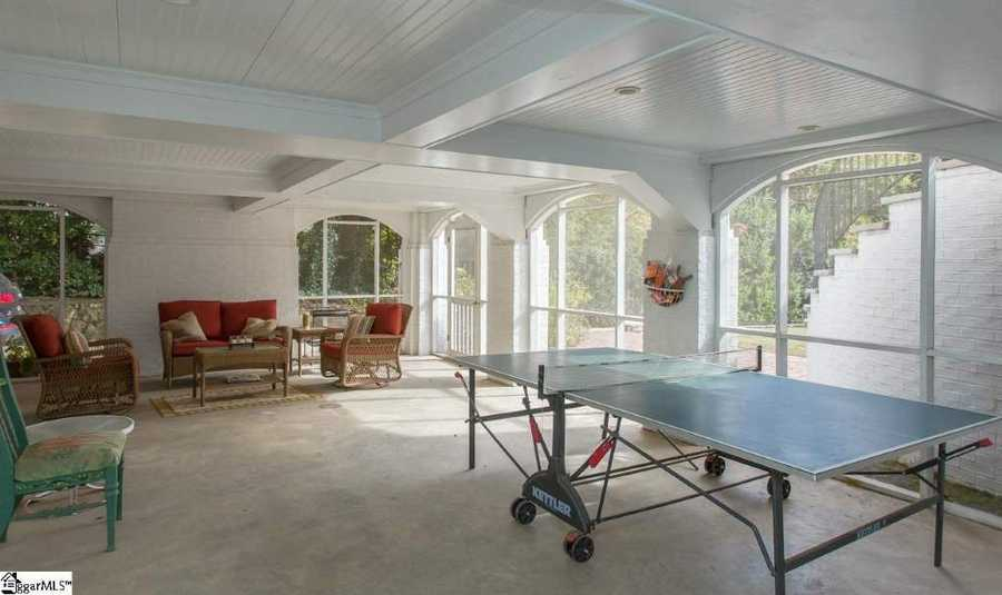 Specialty rooms in the home include an exercise room, an office/study, sun room, a workshop and a bonus/rec room.