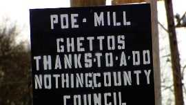 Poe Mill Sign