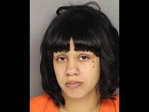 Alyssa Ferguson: Accused of dragging her son, hitting him with belt