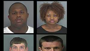 Check out these mug shots of those arrested or wanted in the Upstate in April.
