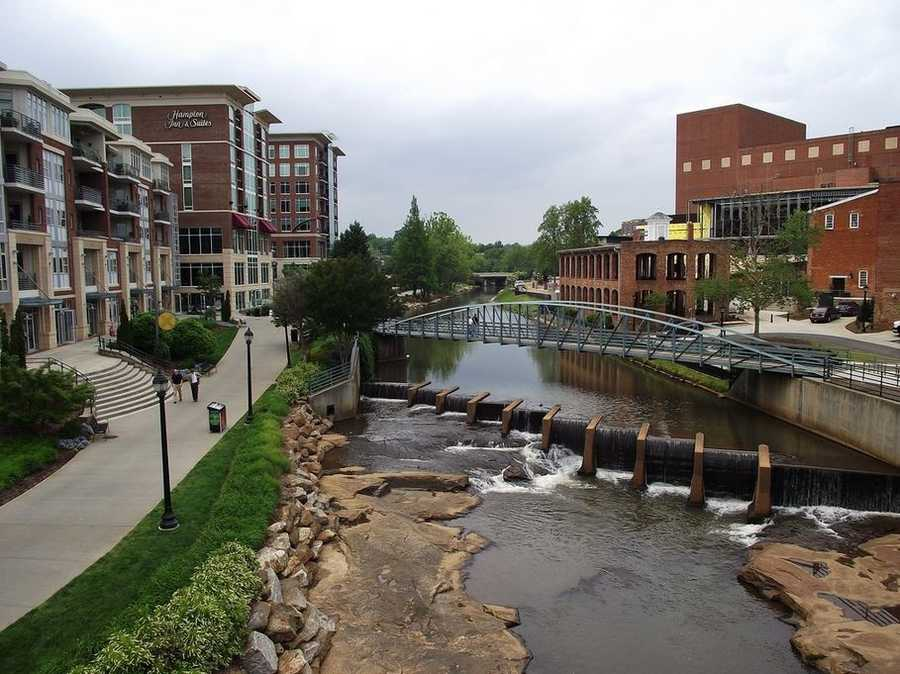 The most populace MSA (Metropolitan Statistical area) is Greenville, with 824,112 (2012 census).