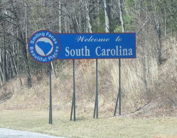 South Carolina is the 24th most populous state in the US.