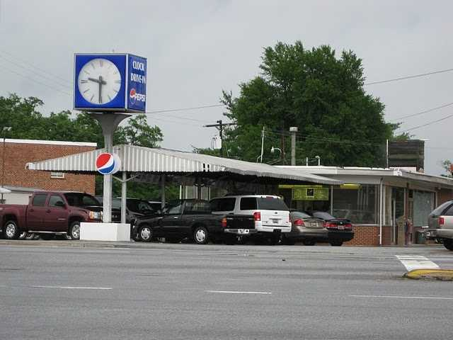 Clock Drive-In, Greenville (7 nominations)