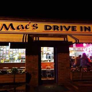 Mac's Drive In, Clemson (8 nominations)