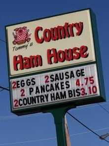 Tommy's County Ham House: 17 nominations
