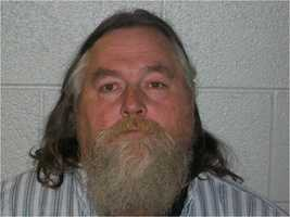 Creed Dale Stepp, Sr.: charged with one felony count of Operation of five or more Video Gaming Machines and one misdemeanor count of Gambling.