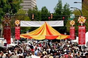 Artisphere is May 9-11 in Downtown Greenville. The event displays from artists from around the US, live music, wine tasting, kids area and food vendors. For more information: http://www.artisphere.us/