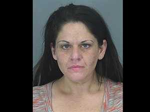 Audrey Atkinson: Accused of leaving toddlers in car while using meth, shoplifiting