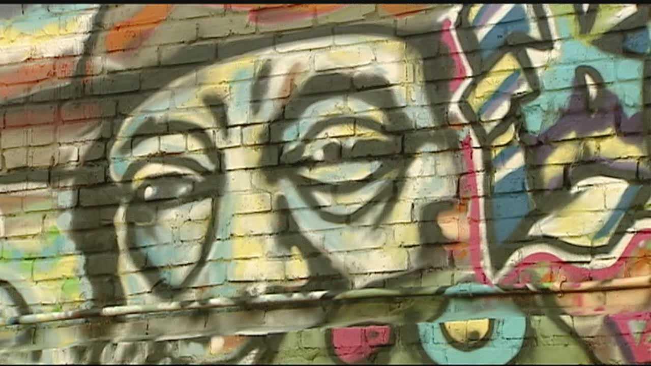 City tackles graffiti epidemic
