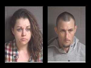 Amber Dawn Ingle, David Glenn Adkins, Jr.: wanted in Buncombe County, N.C. for multiple warrants.