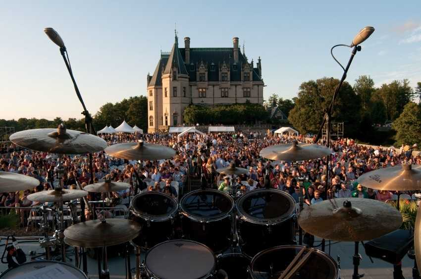 The Biltmore summer concert series a mix of rock and roll hall of famers and Grammy-award winning acts.